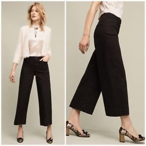 Pilcro and the Letterpress high waisted flare pant